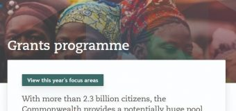 Commonwealth Foundation Grants Programme Team is seeking an Intern (Paid)