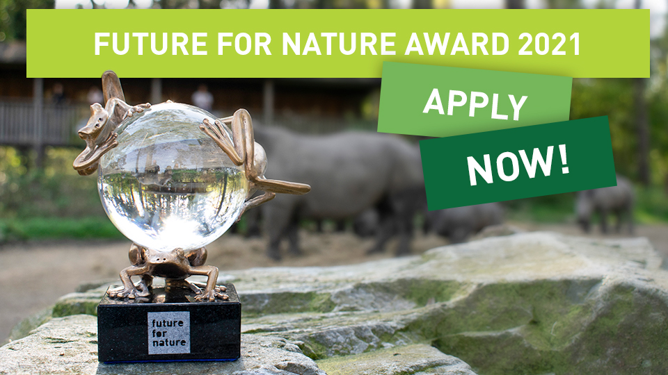 Future For Nature (FFN) Awards 2021 for Young Nature Conservationists (up to €50,000)