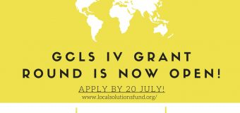 Global Challenges Local Solutions – European Grant Competition 2020 for SDG-related projects (up to 15.000$)