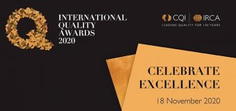 International Quality Awards 2020 for Professionals and Organizations worldwide