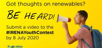 International Renewable Energy Agency (IRENA) Youth Video Contest 2020