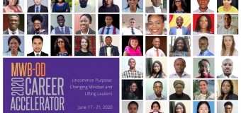 "MWB-OD hosts 1st Career Accelerator Program 2020 on ""Uncommon Purpose: Changing Mindset and Lifting Leaders"""