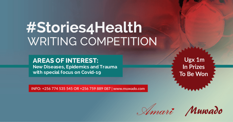 Muwado #Stories4Health Writing Competition 2020 for African Writers (Ugx 1,000,000 in prizes)