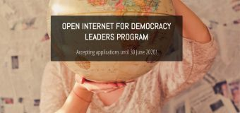 Open Internet for Democracy Leaders Program 2020/21 (Fully-funded)