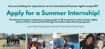 Remote Summer Internship 2020 at International Human Rights Nonprofit