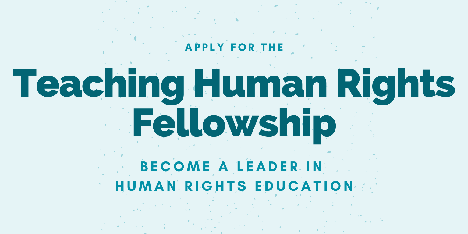 Teaching Human Rights Fellowship 2020 – Cohort 2