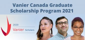 Vanier Canada Graduate Scholarship Program 2021 for Doctoral Study in Canada ($50,000 per year)