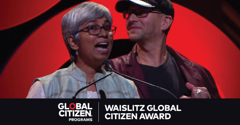 Waislitz Global Citizen Awards 2020 (up to $250,000)