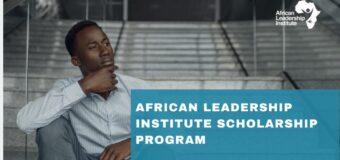 African Leadership Institute (ALI) Business Development Scholarship Program 2020