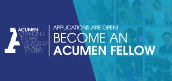 Acumen Fellowship in Bangladesh 2021 for Emerging Leaders