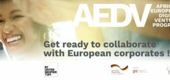 African European Digital Venture (AEDV) Program 2020 for Startups in Tunisia or Ghana