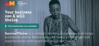 African Management Institute (AMI) Virtual Survive to Thrive Programme 2020 for Entrepreneurs (Scholarship available)