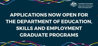 Australian Government Department of Education, Skills and Employment (DESE) Graduate Program 2021 – Economics Pathway