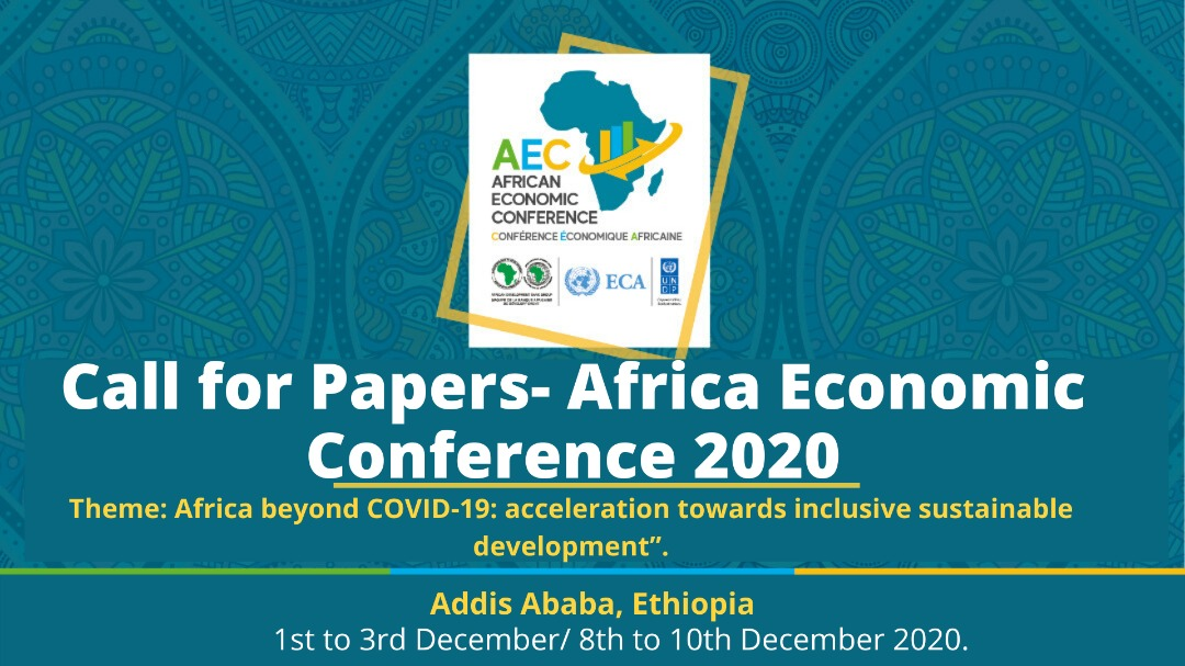 Call for Papers – African Economic Conference 2020 (Sponsorship available)