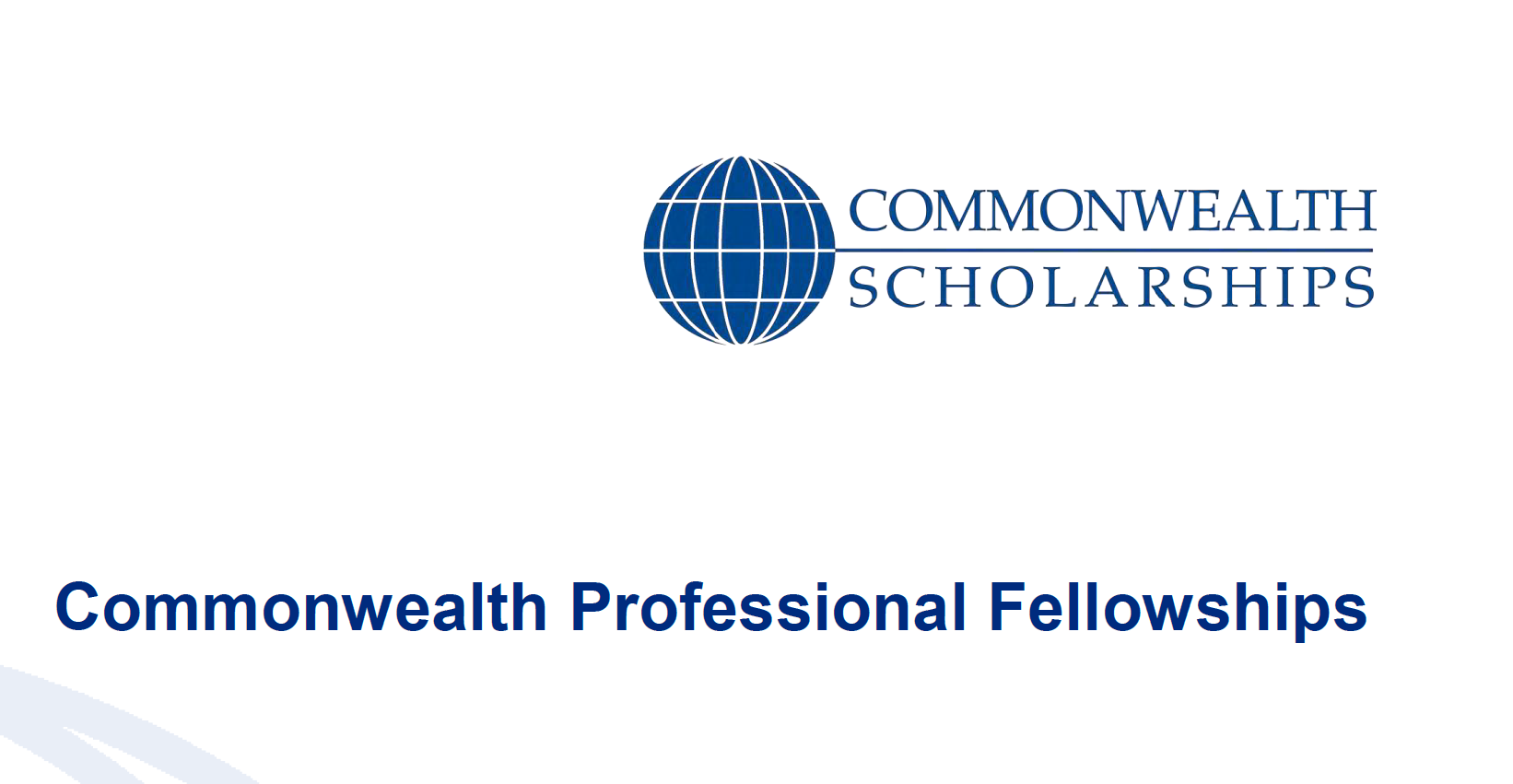 Commonwealth Professional Fellowships 2020 for Mid-career Professionals (Funded)