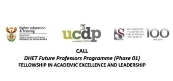 DHET Future Professors Programme 2021/2022 for Early-career Academics in South Africa
