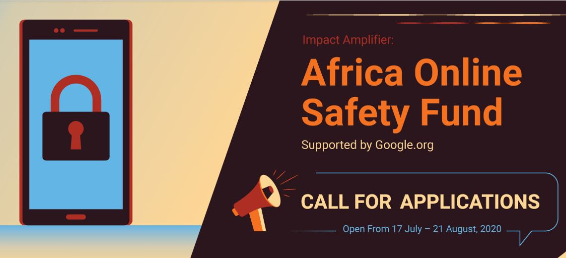 Impact Amplifier Africa Online Safety Fund 2020 (up to $1,000,000)