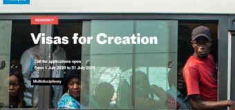 Institut Français Visas for Creation Programme 2020 for Artists and Curators in Africa and the Caribbean Islands