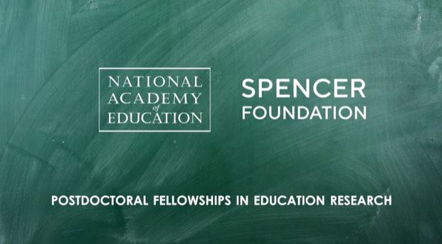 National Academy of Education/Spencer Postdoctoral Fellowship Program 2021 (up to $70,000)