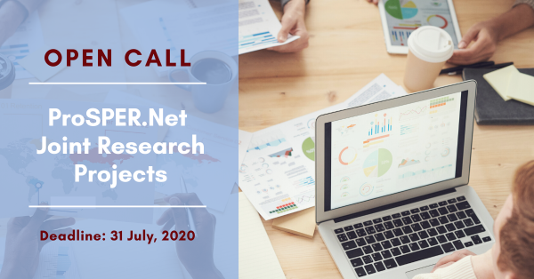 Call for Proposals: ProSPERNet Joint Research Projects 2020-2021 (up to USD 25,000)