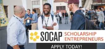 Call for Applications: SOCAP20 Virtual Scholarship for Social Entrepreneurs