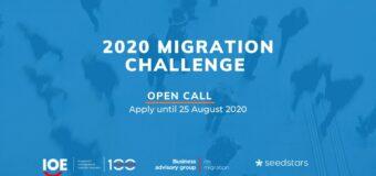 Seedstars Migration Challenge 2020 for Socially Driven Startups
