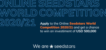 Seedstars World Competition 2020/21 for Startups in Emerging Markets (up to $500,000 USD in equity investment)