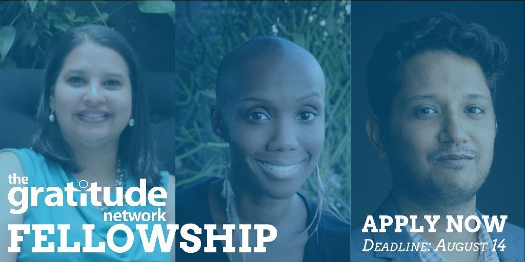 The Gratitude Network Leadership Development Fellowship 2021