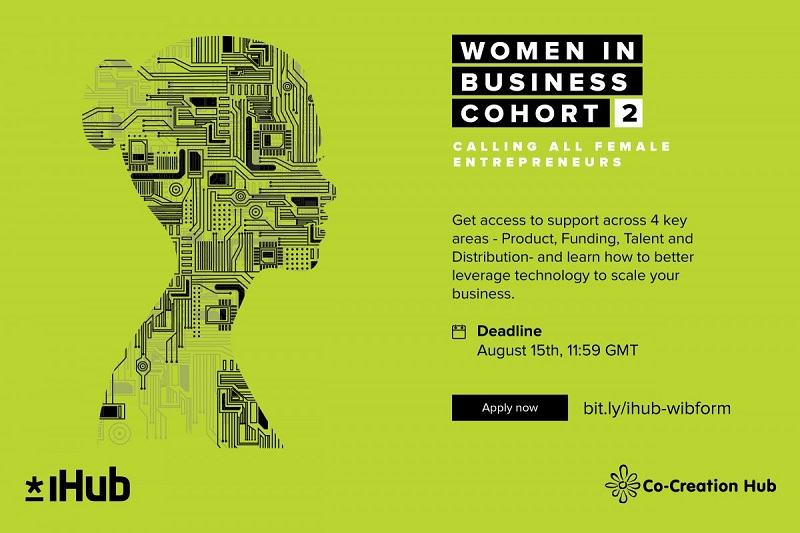 iHub's Women In Business Programme 2020 for Female Entrepreneurs in Nigeria and Kenya