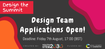 Apply to join the Design Team for the Youth STEM Summit 2020