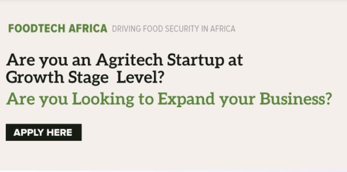 iBizAfrica FoodTech Africa Accelerator Program 2020 for Agri-based Enterprises in Kenya