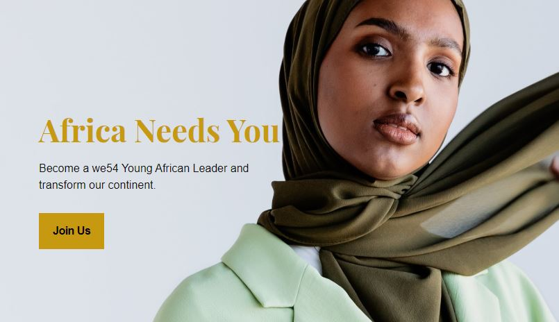Apply to Become a we54 Young African Leader