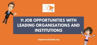 11 Job Opportunities for Young Professionals around the World