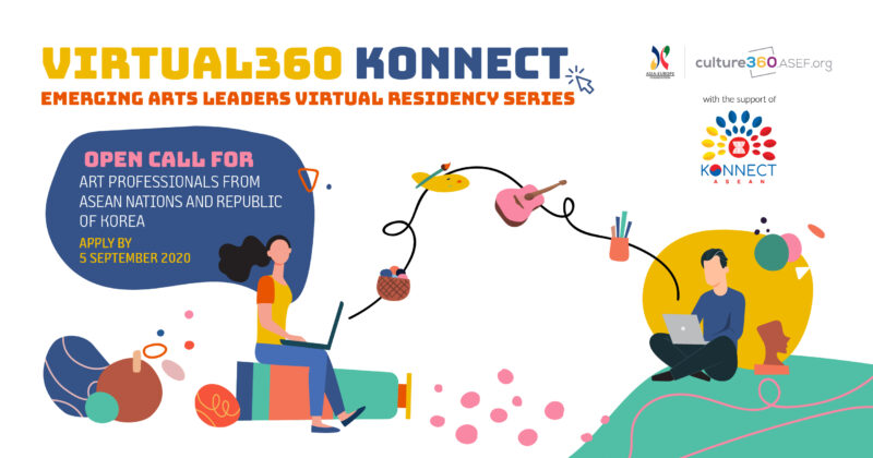 ASEF Virtual360 Konnect Emerging Arts Leaders Residency Series 2020