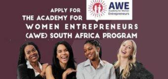Academy for Women Entrepreneurs (AWE) South Africa Program 2020