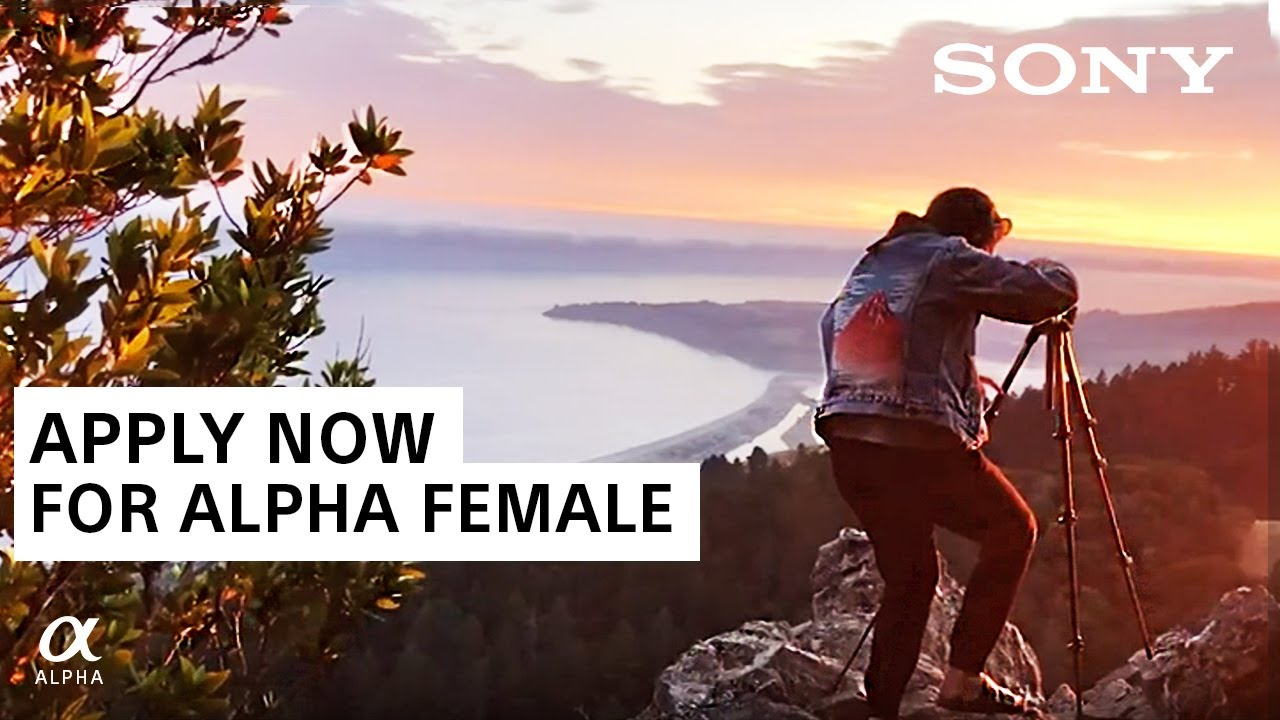 Alpha Female+ Grant Program 2020 for Female Photographers (up to $5,000)