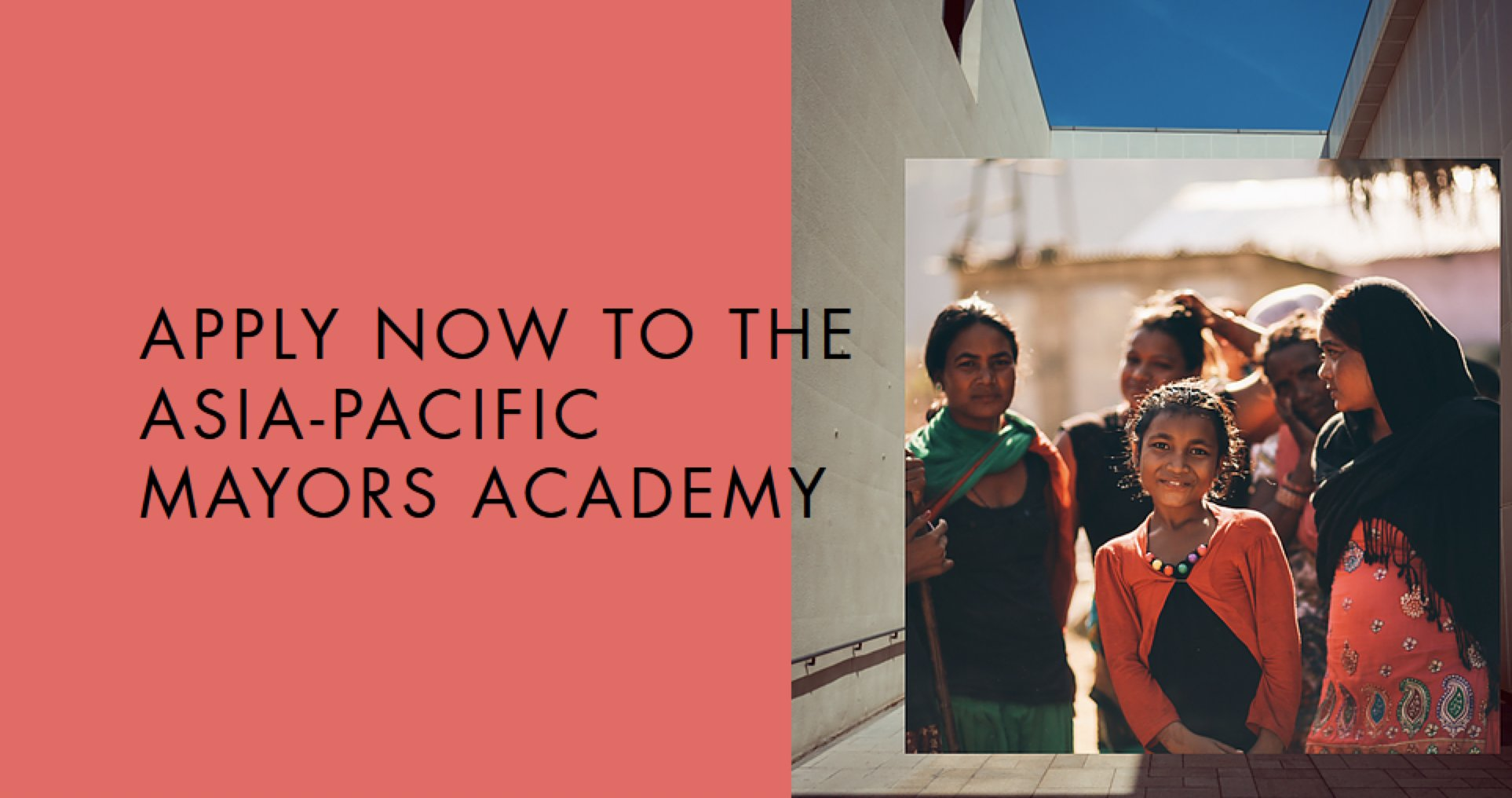 Asia-Pacific Mayors Academy Fellowship Programme 2020