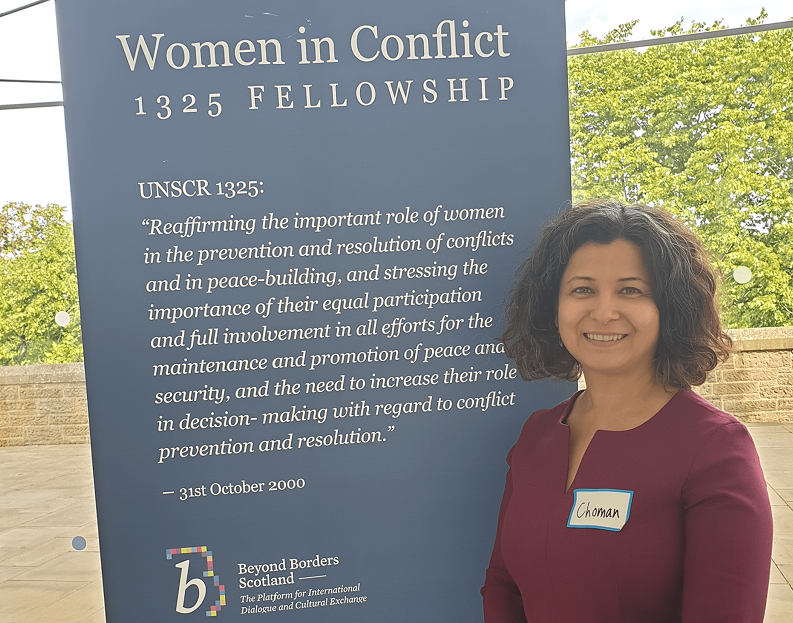 Beyond Borders Scotland Women in Conflict 1325 Fellowship Programme 2020/2021