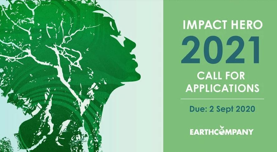 Apply to Become an Earth Company Impact Hero 2021 (up to 300k grant)