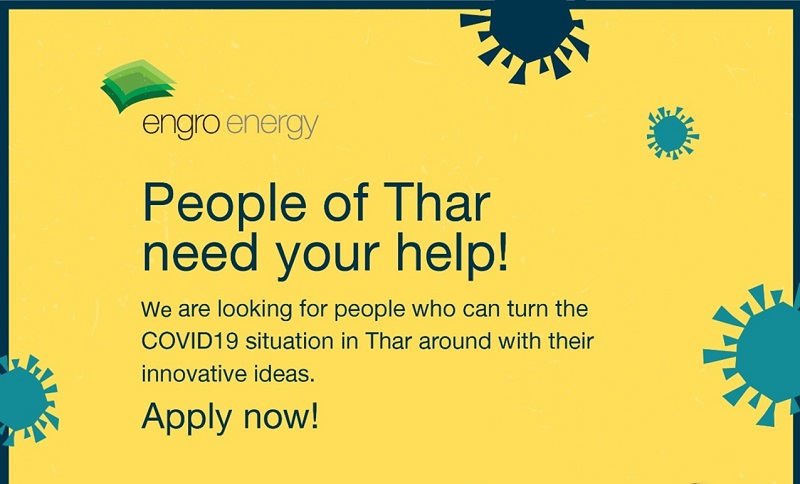 Engro's Call 4 Ideas: Innovative Solutions to Address COVID-19 Crises in Tharparka