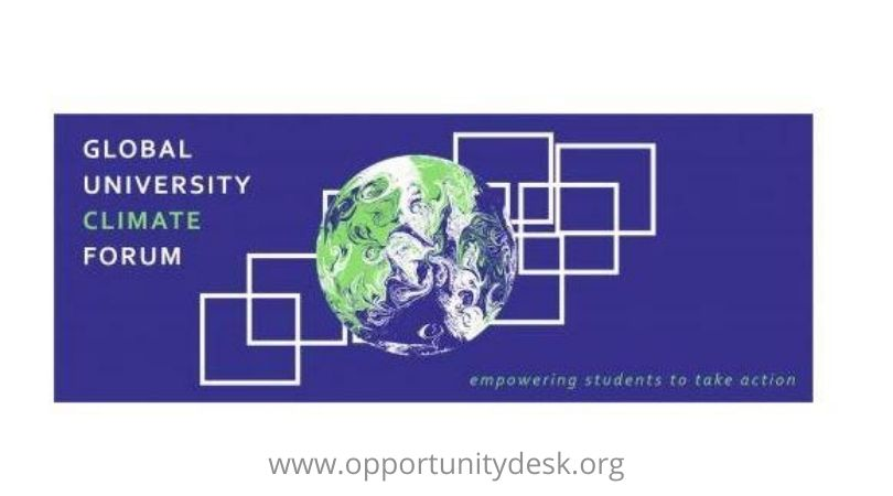 Global Climate Forum 2020 for College and University Students worldwide