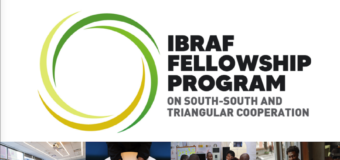 IBRAF Fellowship Program on South-South and Triangular Cooperation 2020