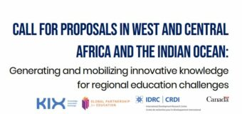 IDRC/GPE Call for proposals: Generating and Mobilizing Innovative Knowledge for Regional Education Challenges 2020