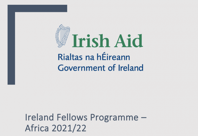 Ireland Fellows Programme – Africa 2021/2022 for Early to Mid-career Professionals (Fully-funded)