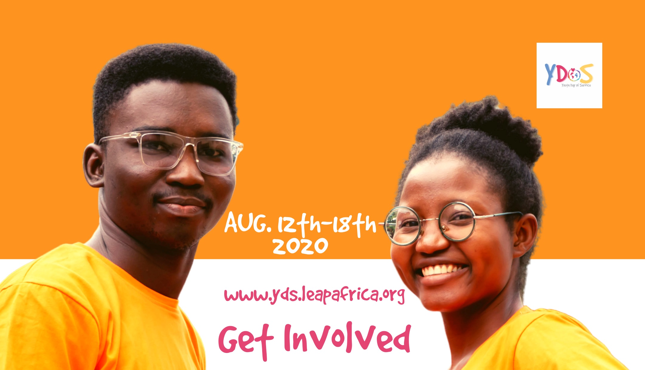 Leap Africa Youth Day of Service (YDoS) 2020 in celebration of International Youth Day