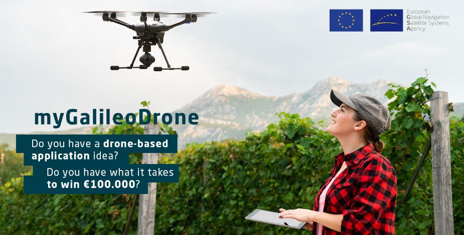 European Global Navigation Satellite Systems Agency MyGalileoDrone Competition 2020 (€230,000 total prize)