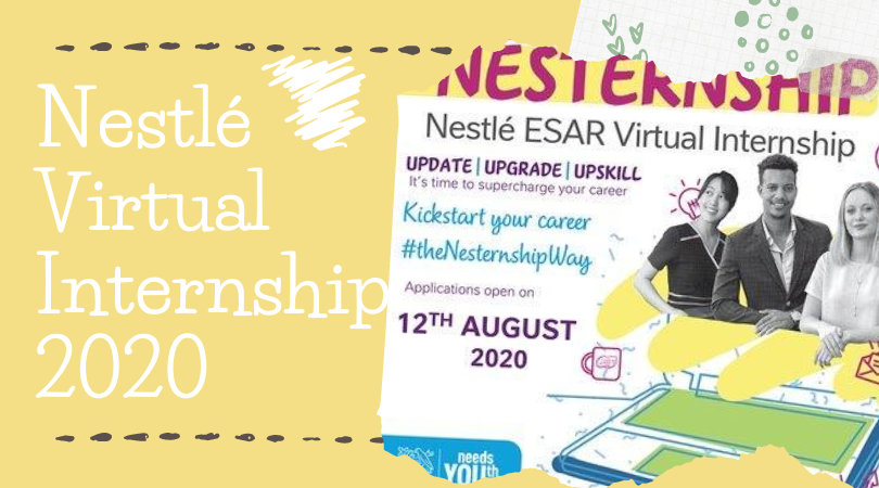 Nestlé Virtual Internship 2020 for Youth in East and Southern Africa