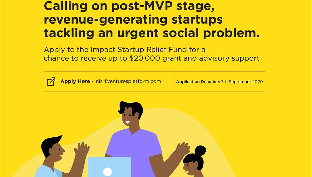 Nigeria Impact Startup Relief Facility (NISRF) Grant Program 2020 (up to $20,000)