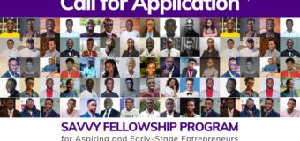 Savvy Fellowship Program 2020 for Aspiring and Early-Stage Entrepreneurs