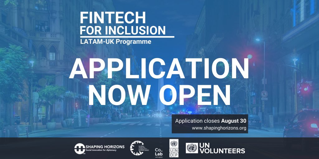 Shaping Horizons FinTech for Inclusion Latam-UK Programme 2020-2021